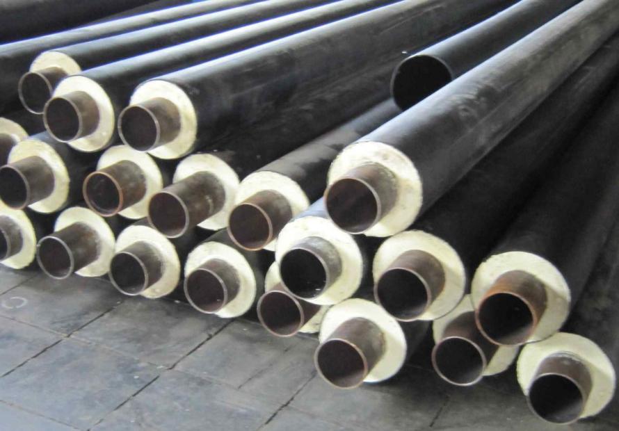 Оборудование для производства теплоизолированных пенополиуретаном труб и фасонины
