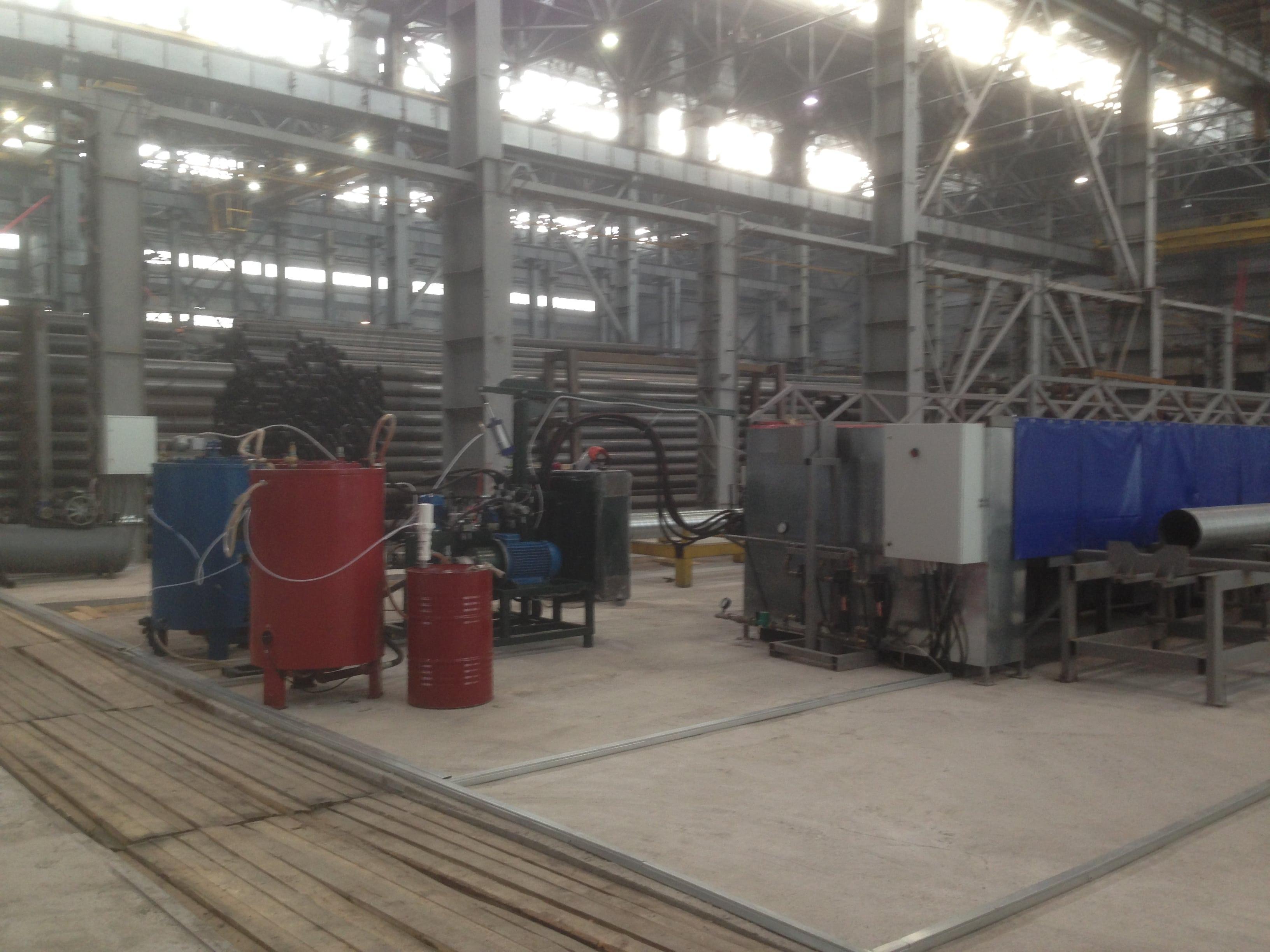 Запуск линии по производству предизолированных труб наирбитском трубномзаводе