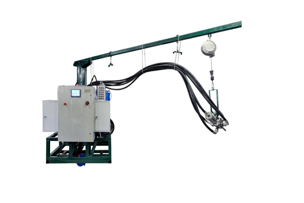 The filling machine of high pressure PK-90